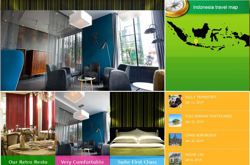 Jasa Website Travel dan Hotel