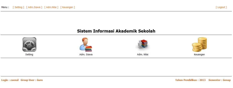 Jasa Website Sistem Informasi Akademik